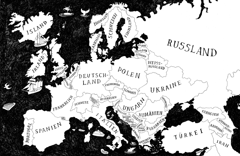 Interaktive Karte Abbruchpolitik in Europa