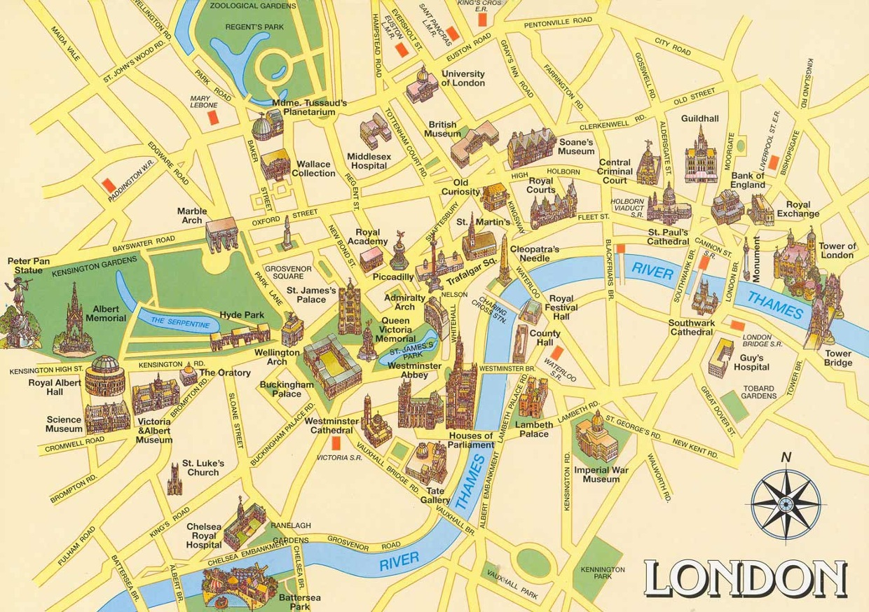 Interactive Map Of London.An Interactive Map Of London