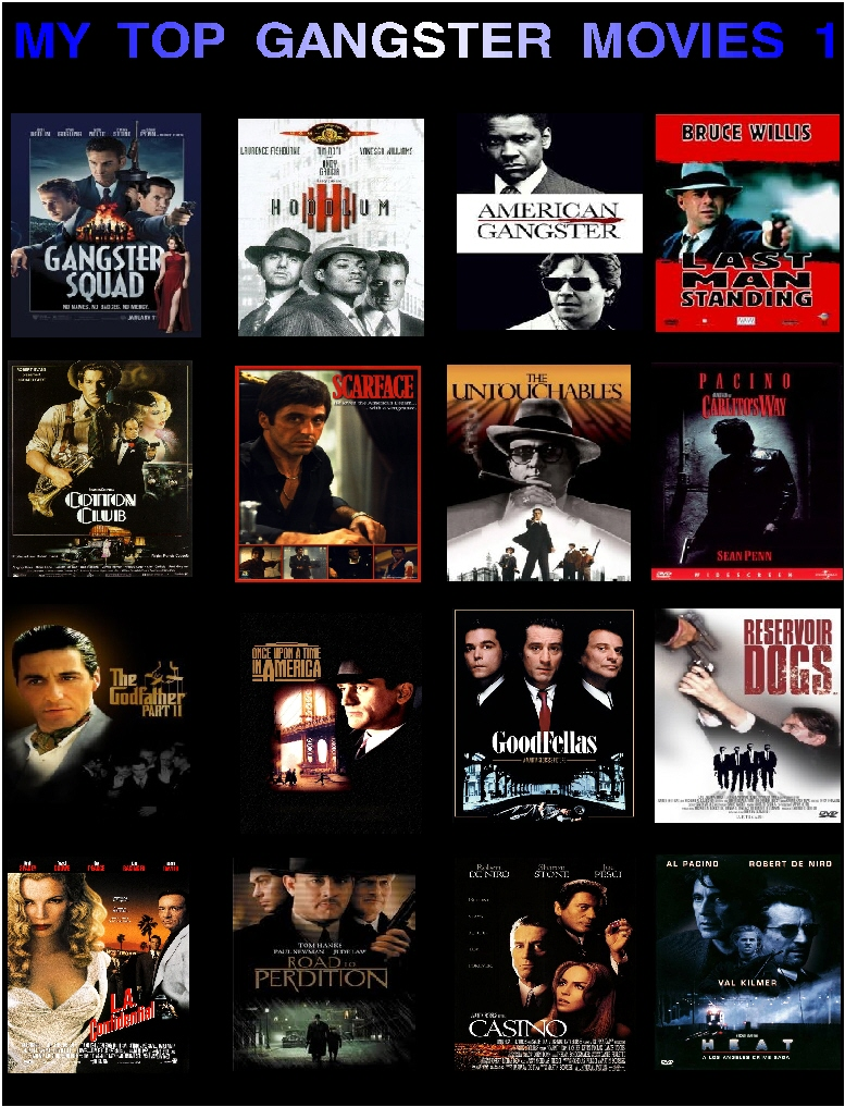 My Top Gangster Movies 1-6511