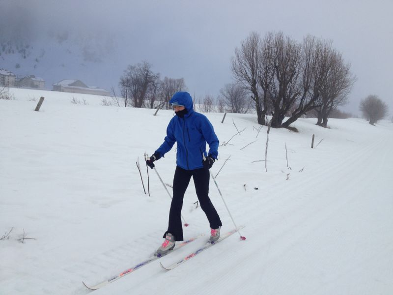 How to improve your cross country skiing