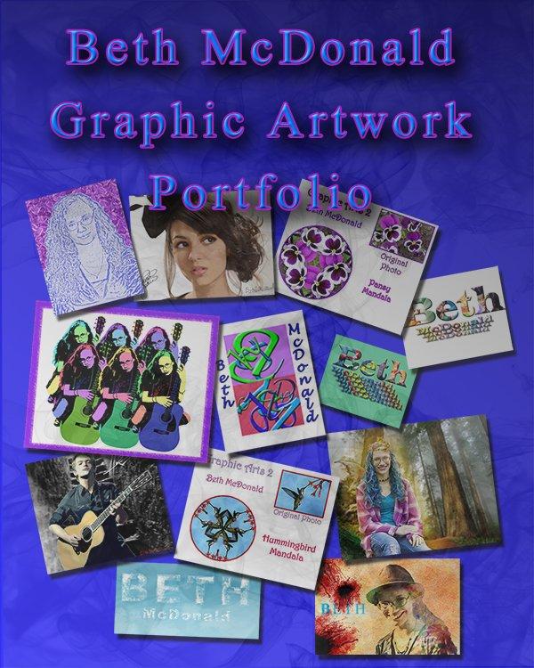 Beth McDonald Graphic Artwork Portfolio