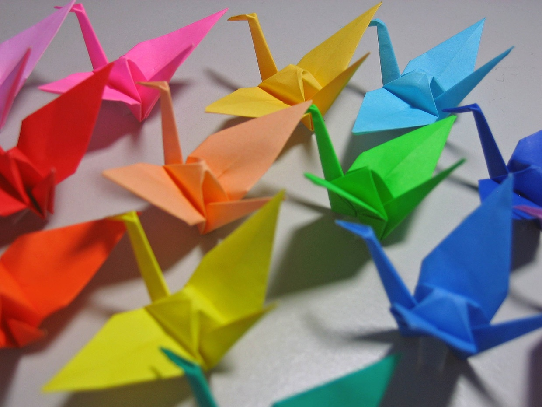 japanese origami thinglink