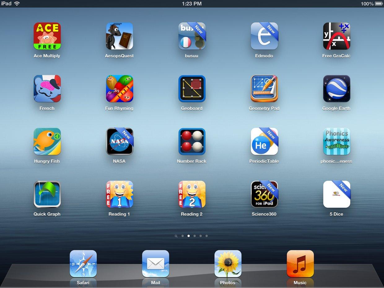 GPA Page 2 Student iPad Apps