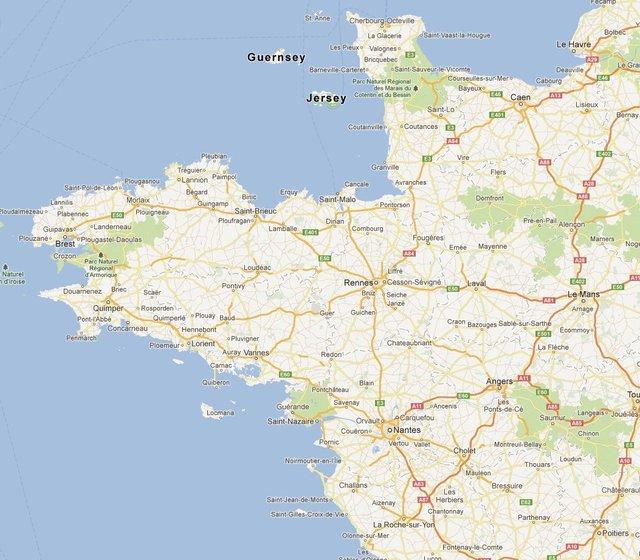 Carte De L Ouest De France | My blog