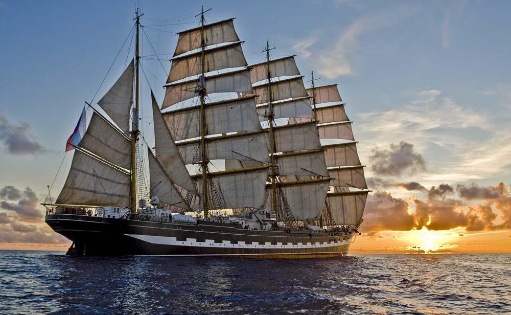bateau 4 mats russe