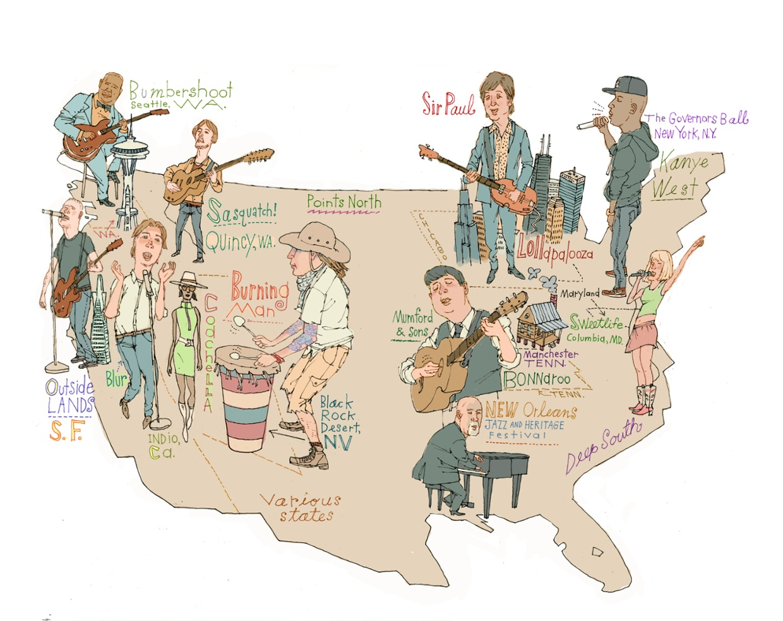 2013 Music Festivals