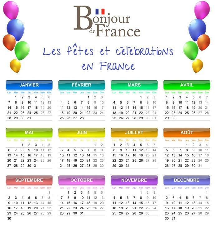Les fêtes et les célébrations en France