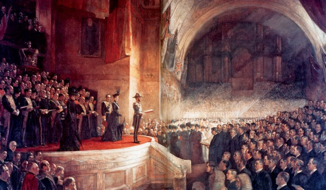 The Big Picture: The Opening of First Federal Parliament...