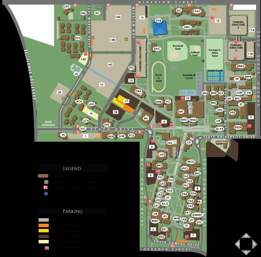 100+ Best Csulb Campus Map – Home Exsplore