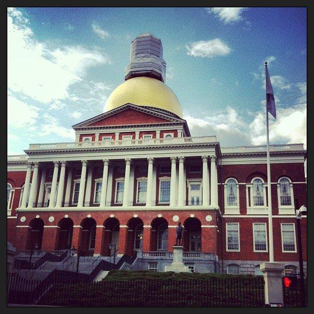 The Massachusetts Statehouse