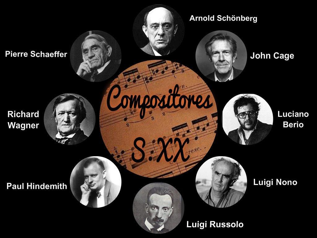 Compositores S.XX
