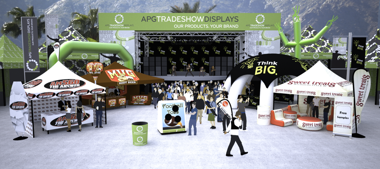 Outdoor Displays - Interactive Shopping Experience