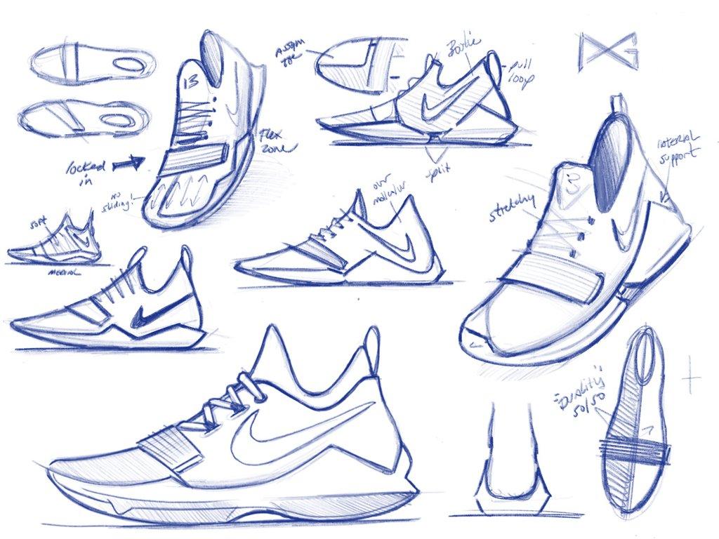 1d65b88eae59 Paul George Nike Signature Sneaker Interview