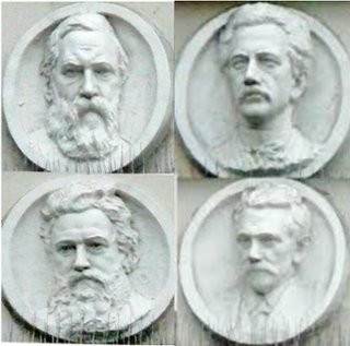 Image result for forward building marx engels lassalle relief