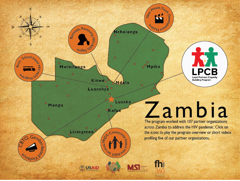 USAID/Zambia: Local Partners Capacity Building Program