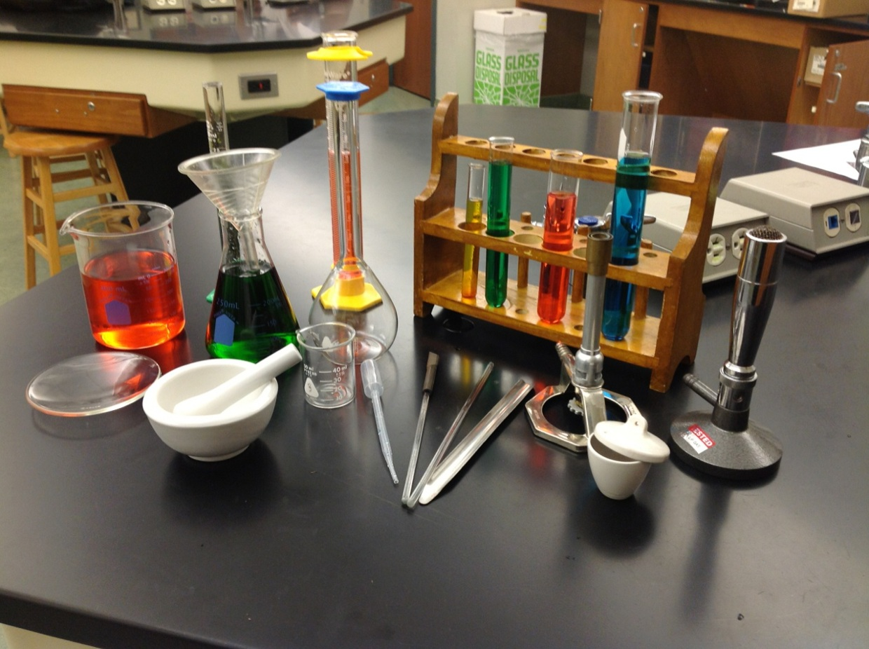 Lab Equipment in the Chemistry Lab