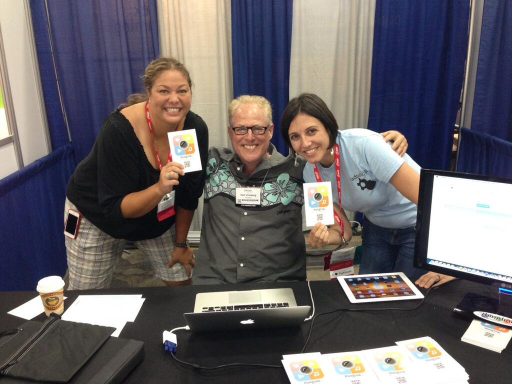 Meeting ThingLink Users at ISTE13