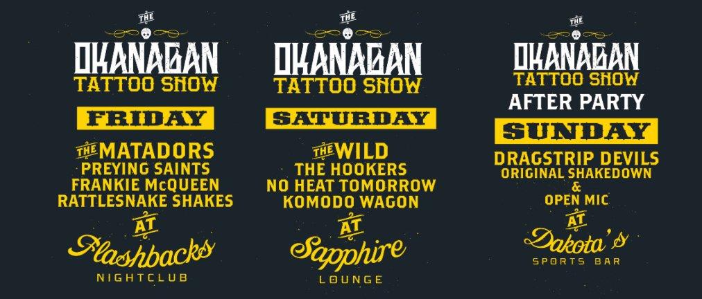 The okanagan tattoo show thinglink for Kelowna tattoo show