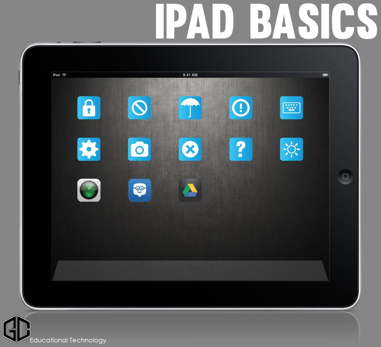 GCCISD iPad Basics