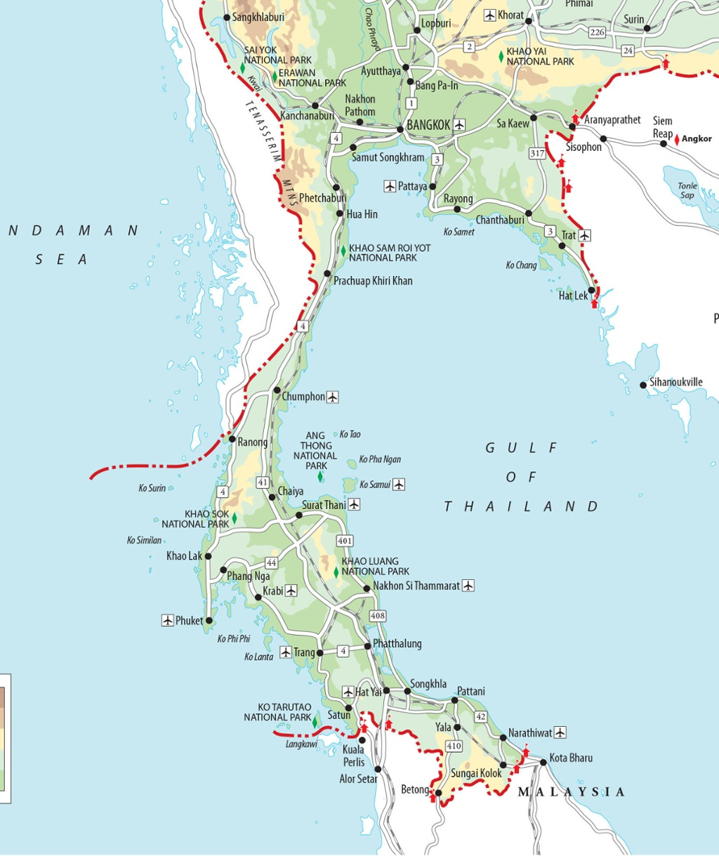 Map Of Thailand South Islands The Best Thailand Islands | Best Thai Islands | Rough Guides