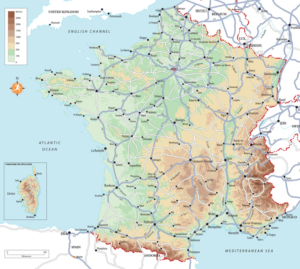 Clear Map Of France.Best Beaches In France French Beach Holidays Rough Guides