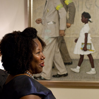 Ruby Bridges She Was Born In Misisipi But She Go To Scho