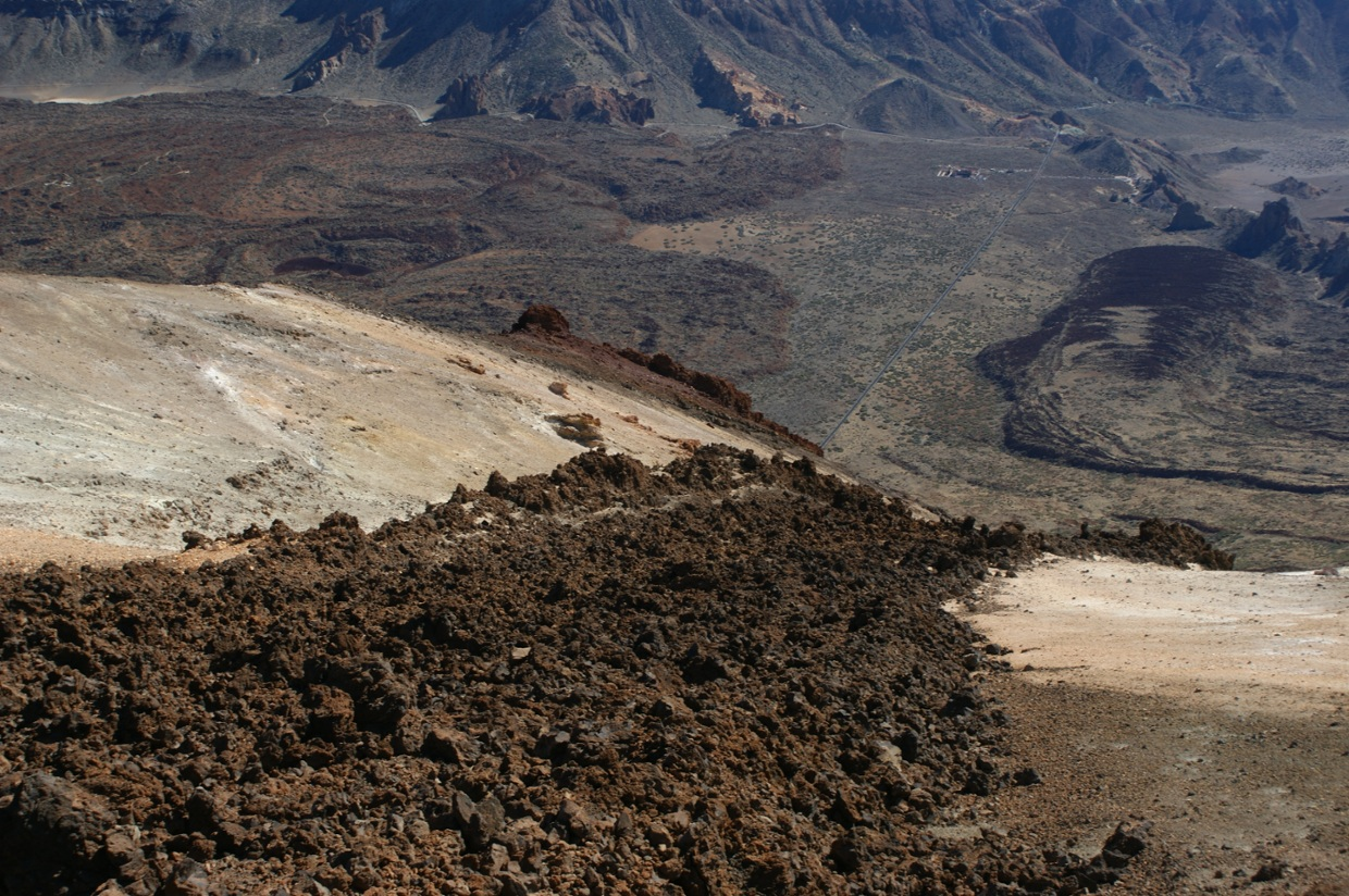 From the top of the Teide