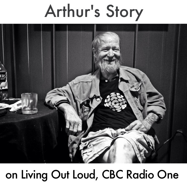 Arthur's Story on CBC's Living Out Loud