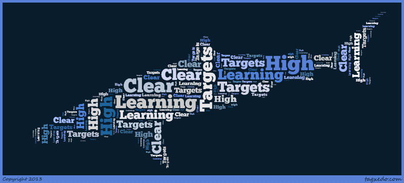 High and Clear Learning Targets