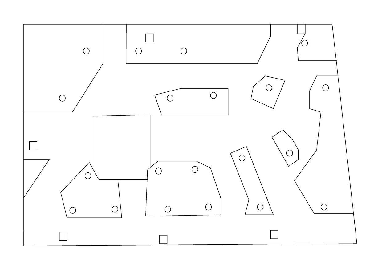 Plano interactivo. Jardín IES Otura.