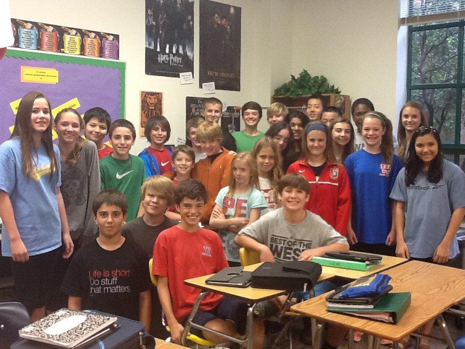 Mrs. Kriese's 6th Period Class