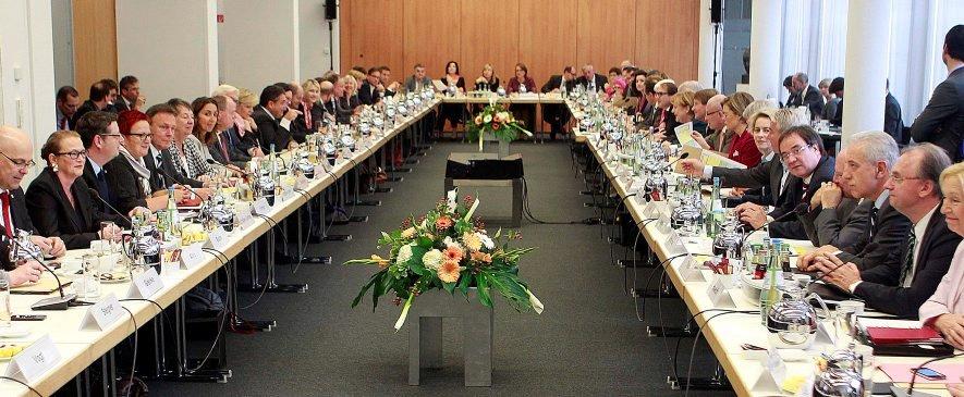 Hamburg bei den Koalitionsverhandlungen