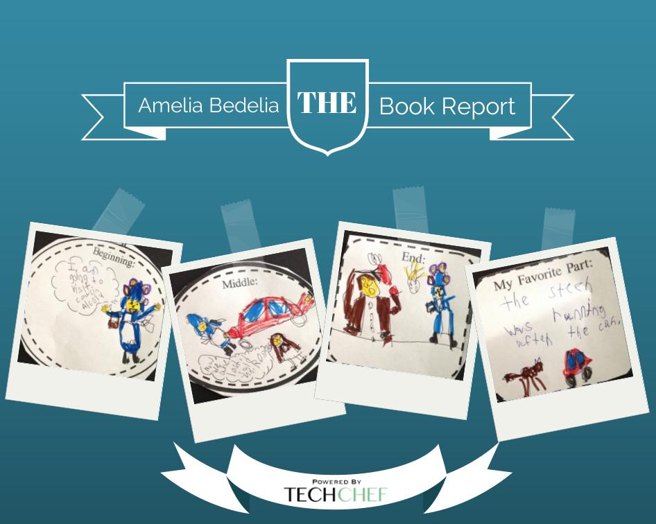 Amelia Bedelia: Primary Book Report