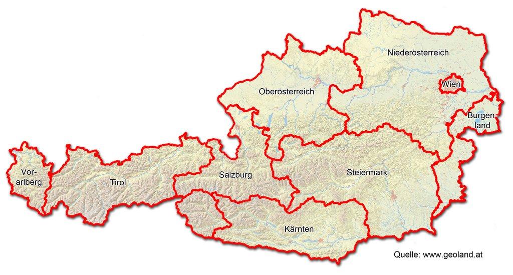 Wien Karte Г¶sterreich