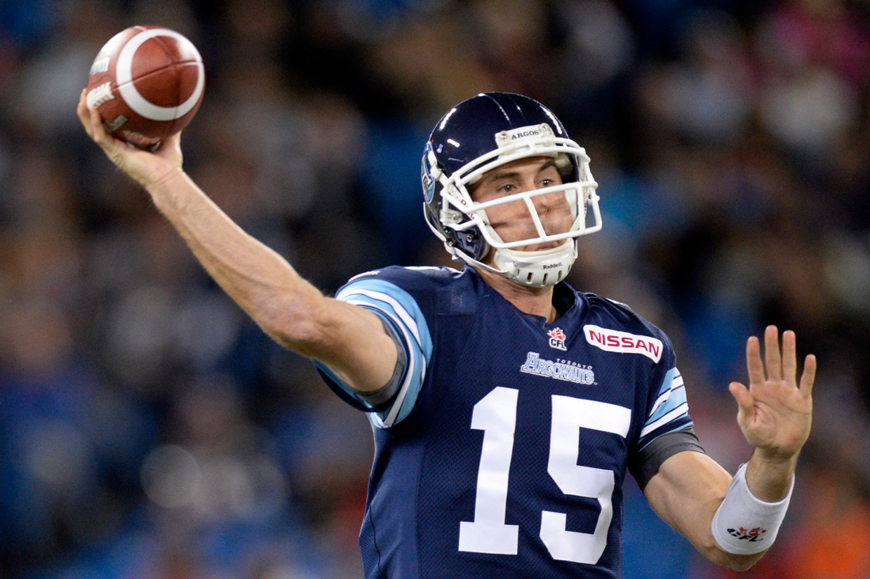 How good is Argos QB Ricky Ray? (hover over to find out)