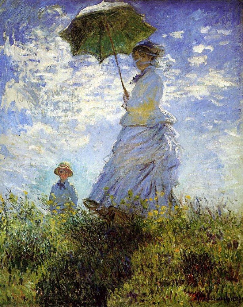 La Promenade by Monet: Personal Interpretation