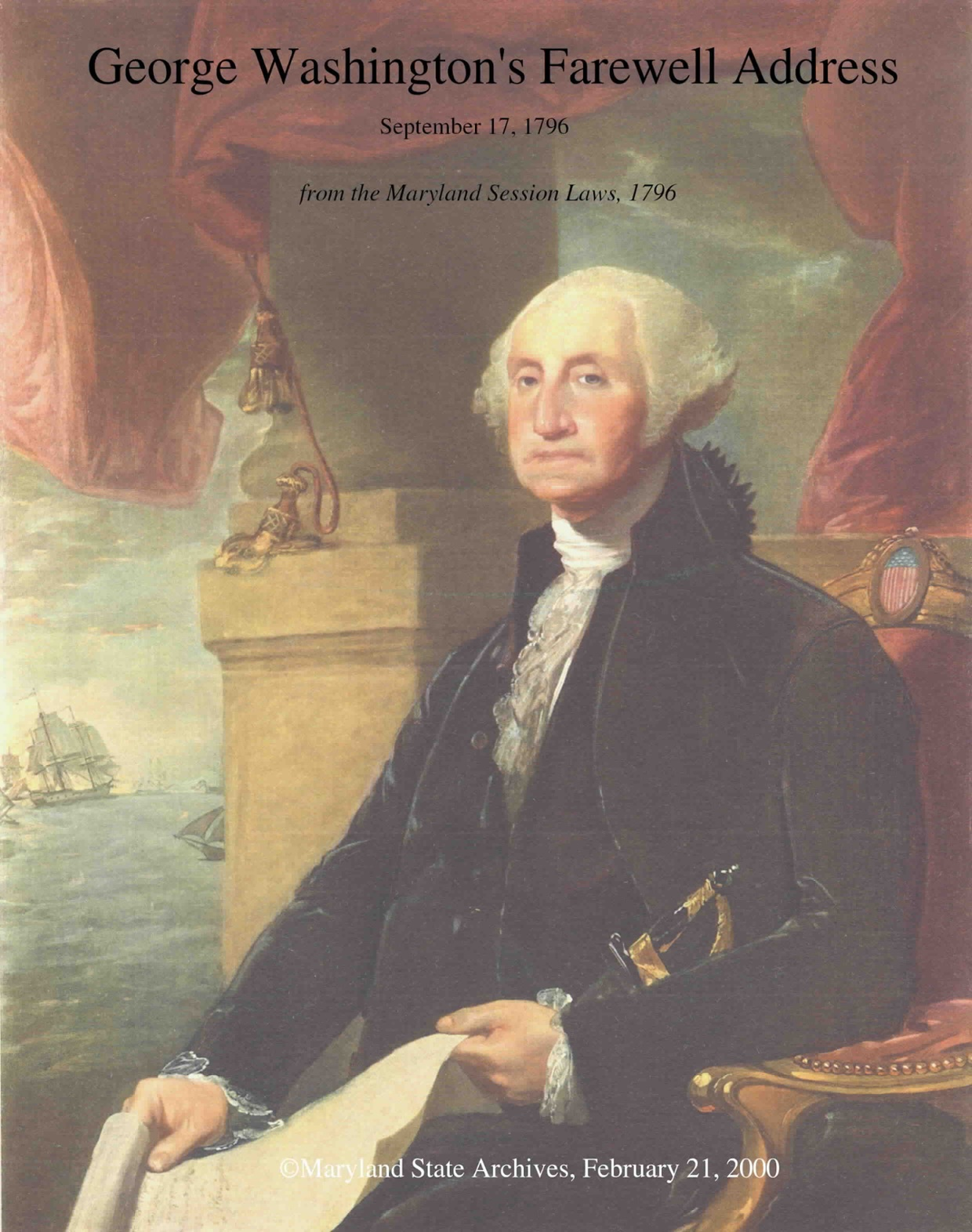 george washington farewell address analysis George washington's farewell warning george washington was the first president of the original farewell address was george washington's final.