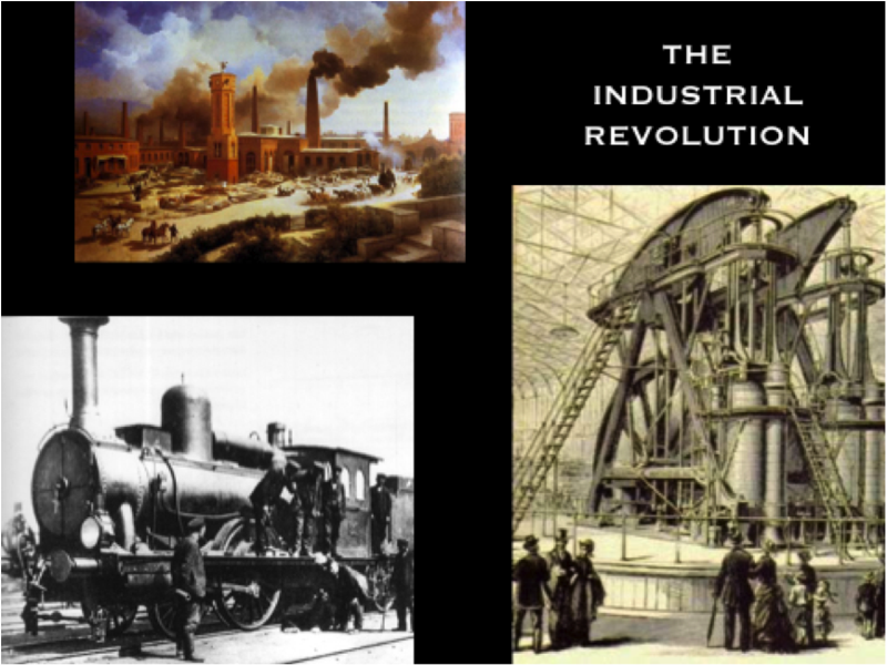 the first industrial revolution in america history essay During the industrial revolution, both innovation and the capabilities of large factories combined to thrust people from a predominantly agricultural existence.