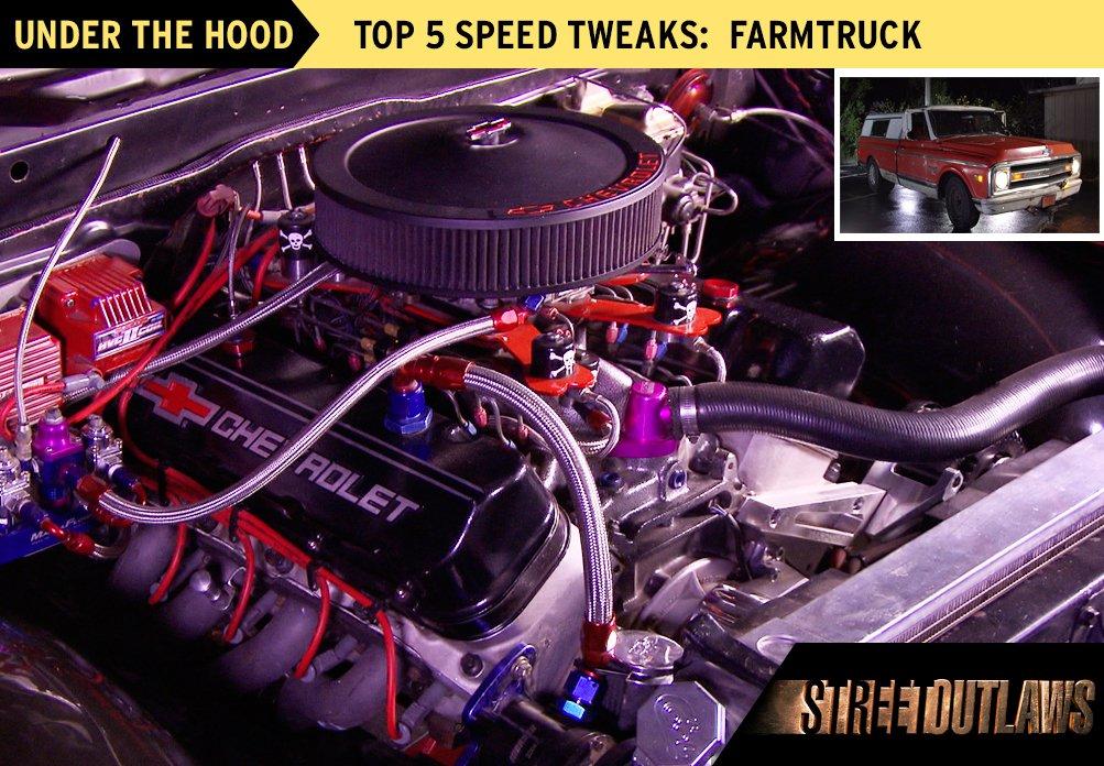 Street outlaws farm truck specs