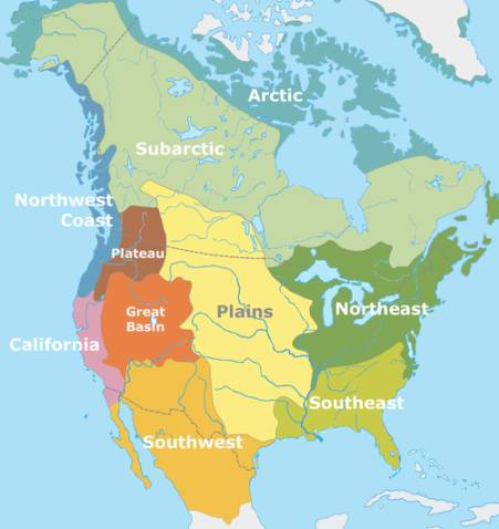 Native american regions research 3rd grade thinglink for American regional cuisine history