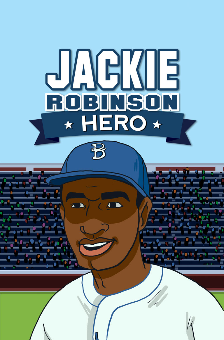 a biography of jack roosevelt robinson a baseball player American baseball player jackie robinson is most remembered as the player who broke baseball's color barrier jackie robinson (jack roosevelt robinson).