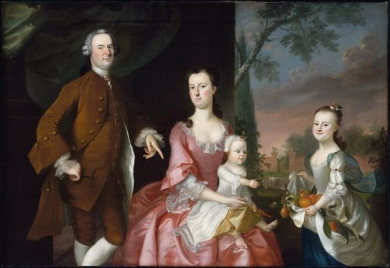 Quot Isaac Winslow And His Family Quot By Joseph Blackburn 1755