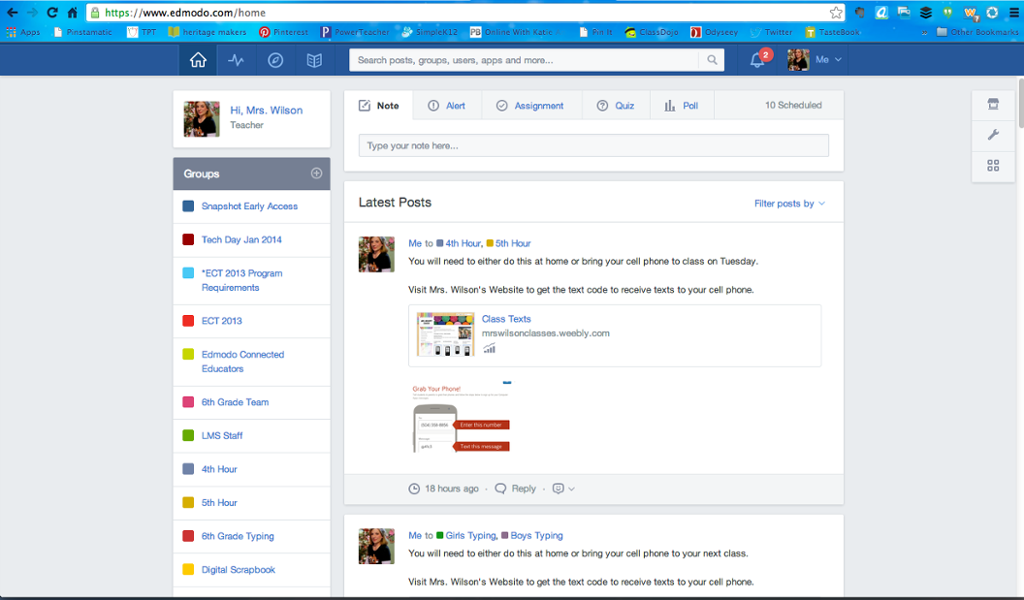 how to change profile picture on edmodo mobile
