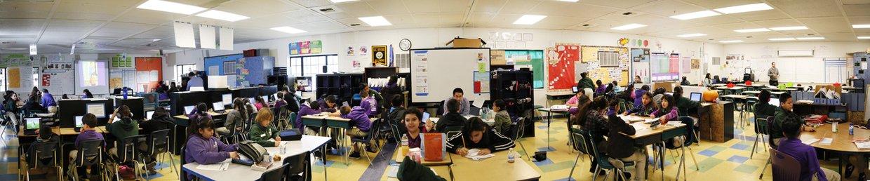 "Inside a ""Flexible Classroom"""