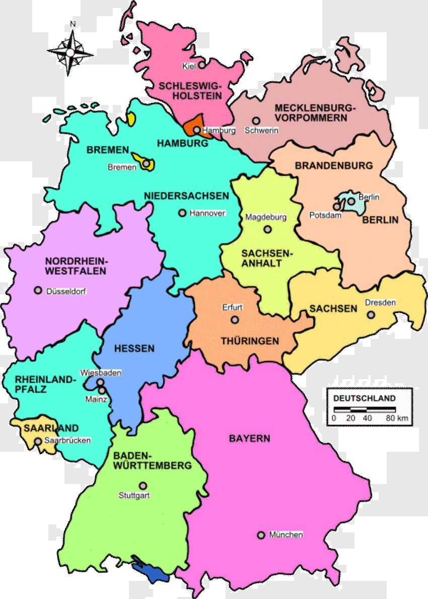 berlin ist die hauptstadt von deutschland bremen ist ei
