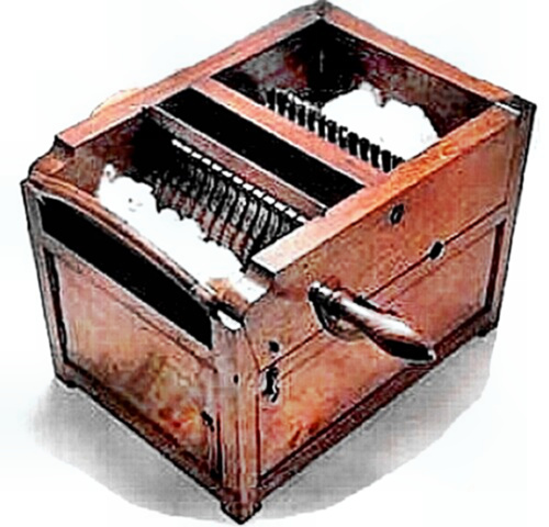 eli whitney invented the cotton gin in the 1800s he was