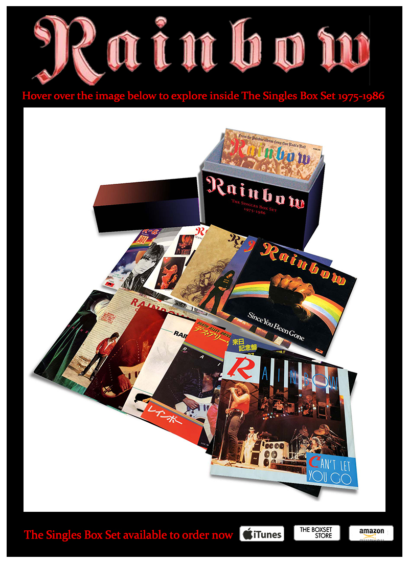 Rainbow The Singles Box Set 1975-1986