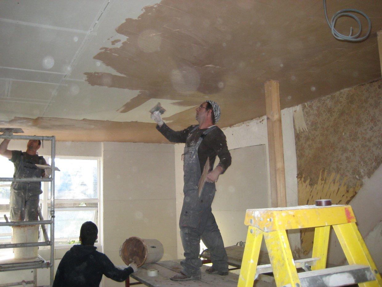 Plastering Trowel Scaffolding