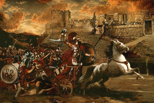 Trojan war interactive