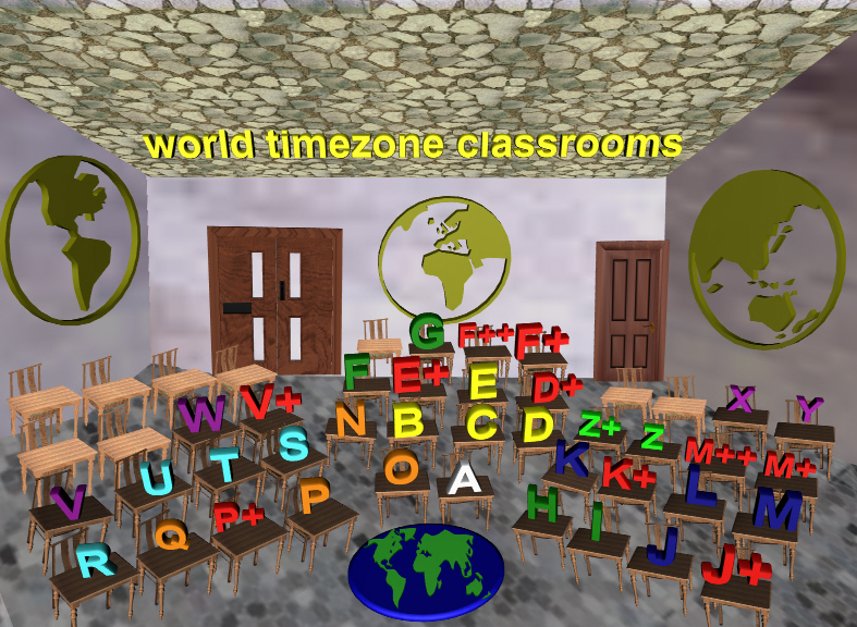 WorldTimeZone classrooms/pages(forthcoming)